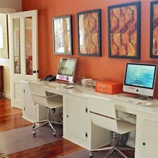 Contemporary Home Office Tara Guerard