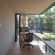 Modern Home Office by Webber + Studio, Architects