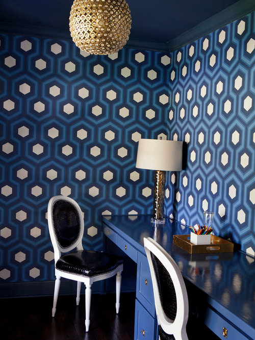 David Hicks Hexagon Wallpaper Ideas Pictures Remodel And