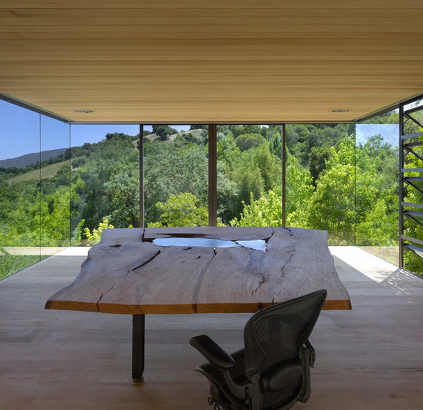 Modern Home Office by Swatt   Miers Architects