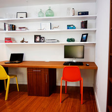 Contemporary Home Office by Silicate Studio
