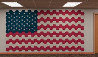 Tectum-American Flag