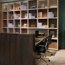 Transitional Home Office by Teddy Edwards