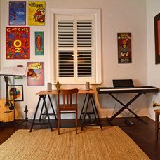 Eclectic Home Office by Jeni Lee