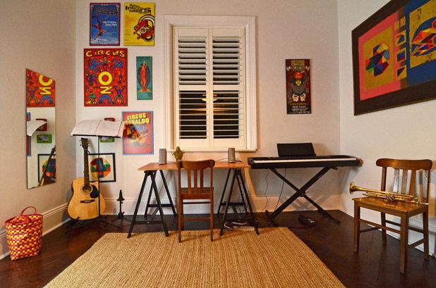 エクレクティック ホームオフィス・仕事部屋 by Jeni Lee