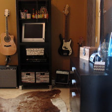 Eclectic Home Office Teenage GRUNGE