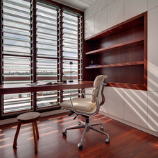 Contemporary Home Office by CplusC Architectural Workshop
