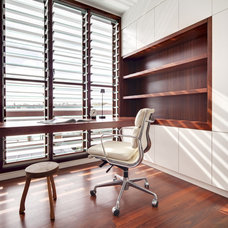 Modern Home Office by Dan Kitchens Australia