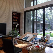 Contemporary Home Office by Franklin Architect