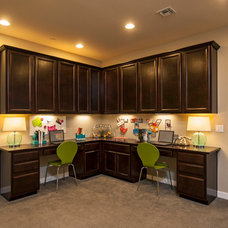 Contemporary Home Office by Meritage Homes