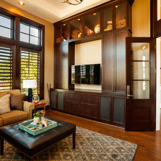Transitional Home Office by Westlake Development Group, LLc
