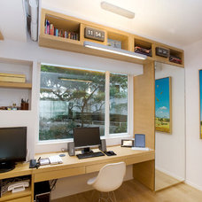 Contemporary Home Office by Clifton Leung Design Workshop - CLDW.com.hk