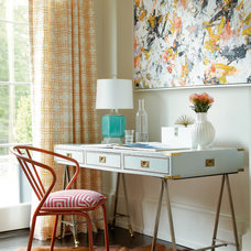 Transitional Home Office by Calico