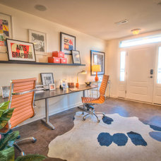 Contemporary Home Office by Wormald Homes at Monocacy Park