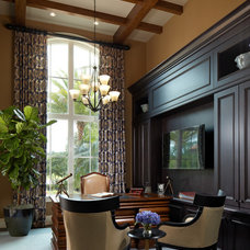 Traditional Home Office by Marc Rutenberg Homes