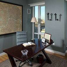 Contemporary Home Office by ARCHIA HOMES