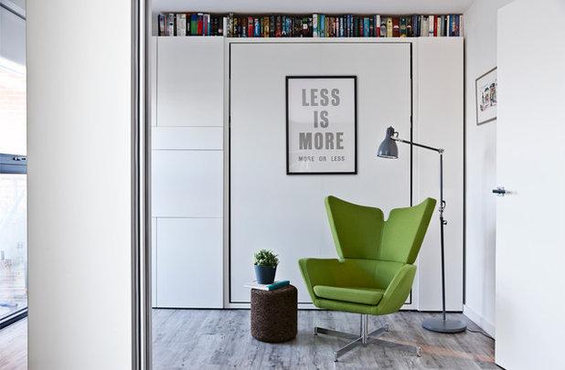 コンテンポラリー ホームオフィス・書斎 by Bailey London Interior Design & Build