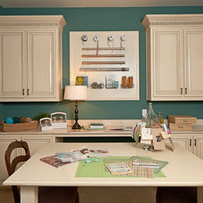 Traditional Home Office by K. Hovnanian Homes