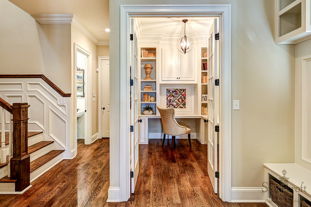 Traditional Home Office by Stonecroft Homes