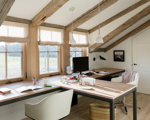 Fabulous Two Desks In One Room Ideas Pictures Remodel And Decor Largest Home Design Picture Inspirations Pitcheantrous