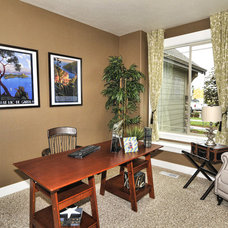 Traditional Home Office by Coleman Homes