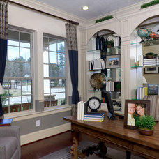 Traditional Home Office by David Weekley Homes