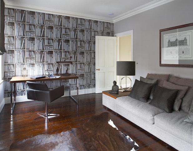 Contemporain Bureau à domicile by Optimise Home