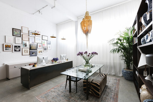 Eclectic Home Office by Maurizio Pellizzoni Ltd