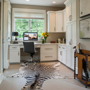 """The """"New Traditional"""" Home - Her Office"""