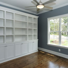 Craftsman Home Office by Homes By Dickerson