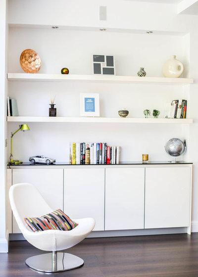 コンテンポラリー ホームオフィス・書斎 by Vogue Kitchens