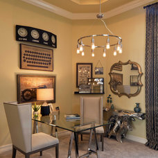 Transitional Home Office by Beasley & Henley Interior Design