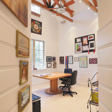 Contemporary Home Office by Sullivan, Henry, Oggero and Associates, Inc.