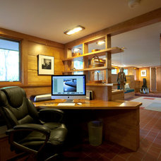 Modern Home Office by Al Waddell, Realtor - RE/MAX Metro Plus