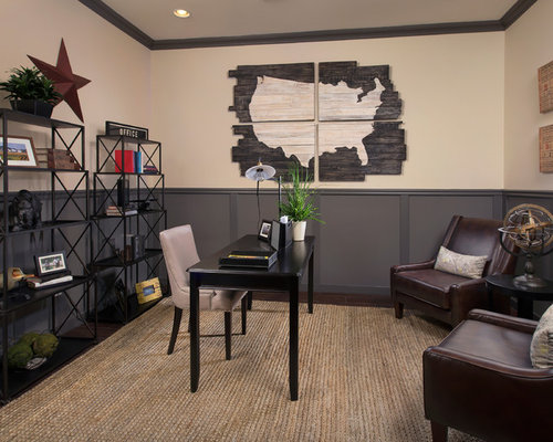 Dark Gray Wainscoting Houzz