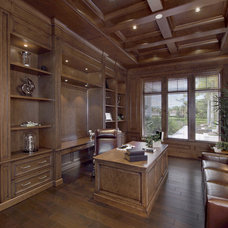 Transitional Home Office by Clive Daniel Home