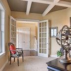 Hidden gun safe - Traditional - Home Office - Atlanta - by Cabinets Of Atlanta Inc.