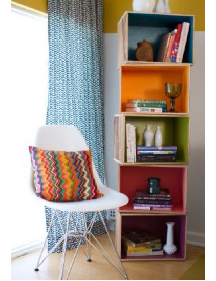 Modern Home Office by Natalie Myers