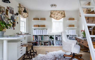 An Interior Designer Makes Her Dream 'She Shed'