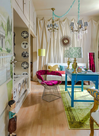 Eclectic Home Office by Valorie Hart