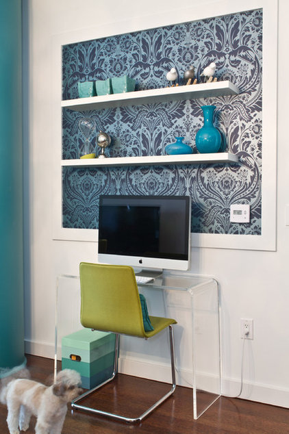 Contemporary Home Office by A.S.D. Interiors - Shirry Dolgin, Owner