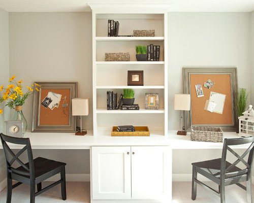 Save Photo. Homes by Tradition - Two Desks Houzz
