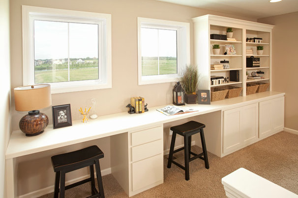 Contemporary Home Office by Robert Thomas Homes