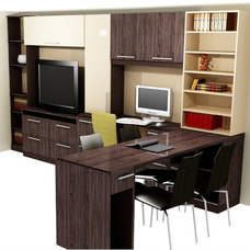 Contemporary Home Office by Cut to Size