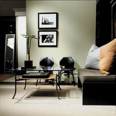 Contemporary Home Office by Studio Santalla, Inc