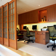 Asian Home Office by Mahoney Architects & Interiors