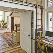 Traditional Home Office by Aleck Wilson Architects
