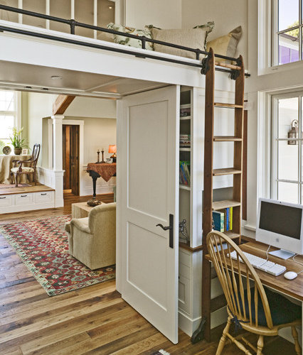 Houzz Marketing For Interior Designers: Loft And Rolling Ladder Home Design Ideas, Pictures