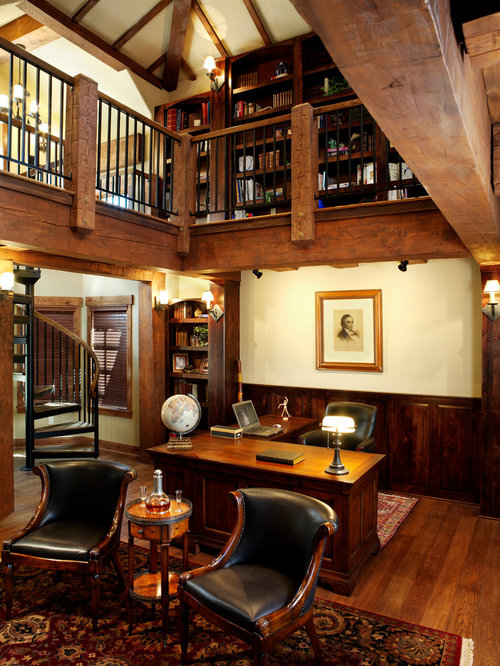 Home Office Library Design Ideas Remodel Pictures Houzz