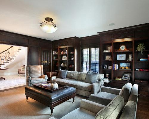 Den furniture home design ideas pictures remodel and decor for Home den